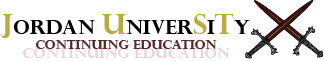 Jordan University Continuing Education logo